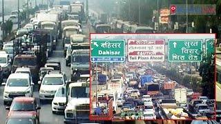 Heavy traffic jam on WEH | Mumbai Live