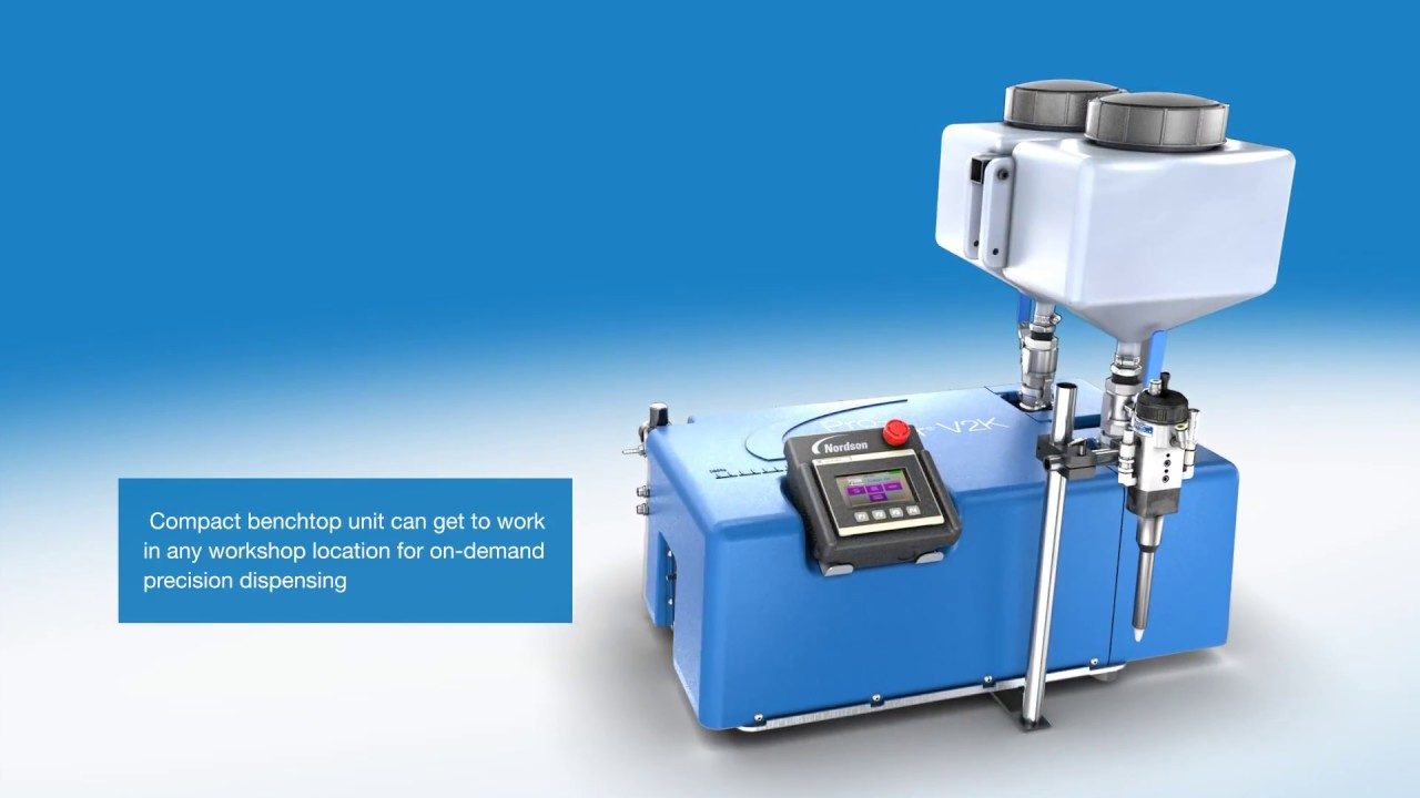 2 Component Metering with Pro-Meter V2K from Nordson Sealant Equipment