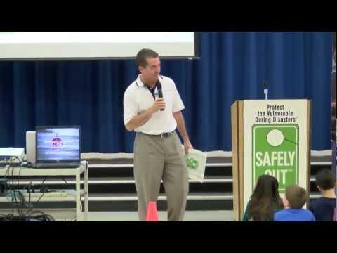 SAFELY OUT & CalEMA at John Ehrhardt Elementary School in Elk Grove, CA