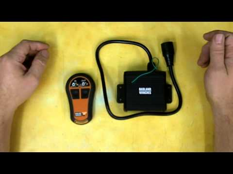 Harbor Freight Wireless Winch Remote Control Review Item 61474  YouTube