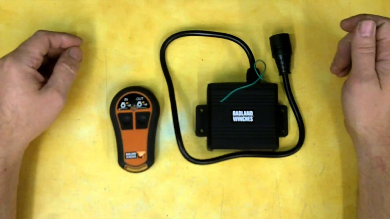 maxresdefault harbor freight wireless winch remote control review item 61474 badland wireless remote wiring diagram at creativeand.co