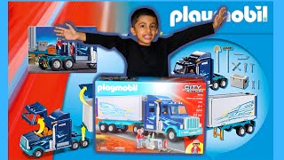 UNBOXING PLAYMOBIL CITY ACTION.