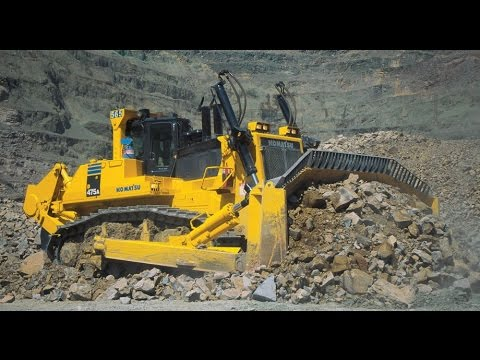 Top-7 biggest and heaviest bulldozers in the world