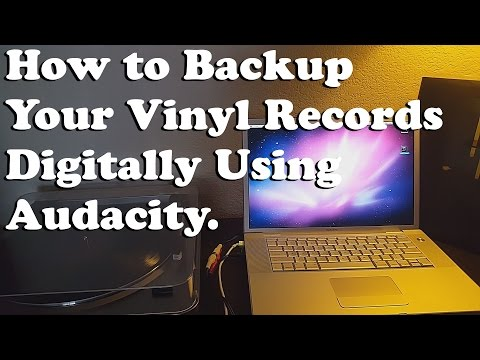 How to Backup Your Vinyl Records To Digital Files Using Audacity
