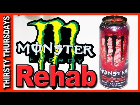 Monster ★ Rehab Energy Drink ROJO TEA + ENERGY Review