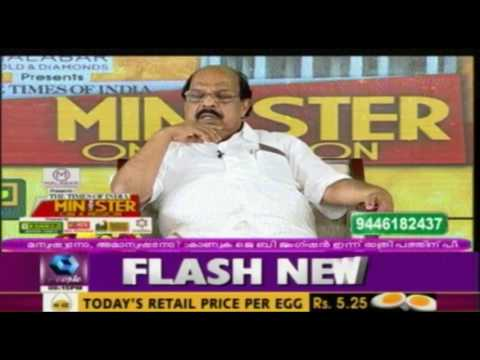 Minister on a Mission: Public Works Department Minister G Sudhakaran | 31st July 2016 | Full Episode