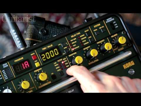 Korg SDD-3000 Pedal stompbox delay review demo