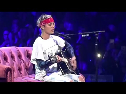 Justin Bieber -Love Yourself (Live In Dallas, TX At American Airlines Center April 10, 2016)