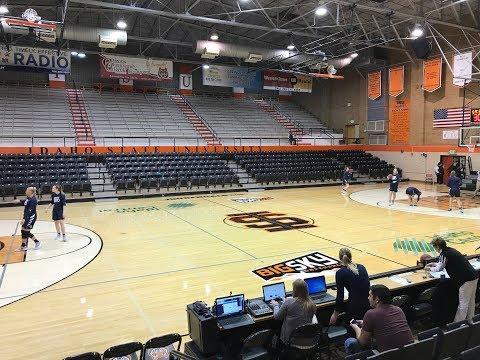 Utah State women's basketball at Idaho State University - LIVE