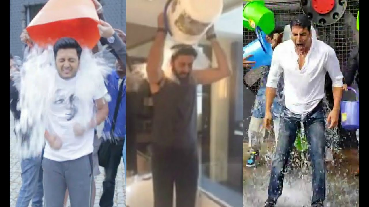 Bollywood Stars Ice Bucket Challenge Compliation Video