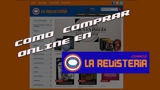 Como comprar online en la revisteria comics Argentina
