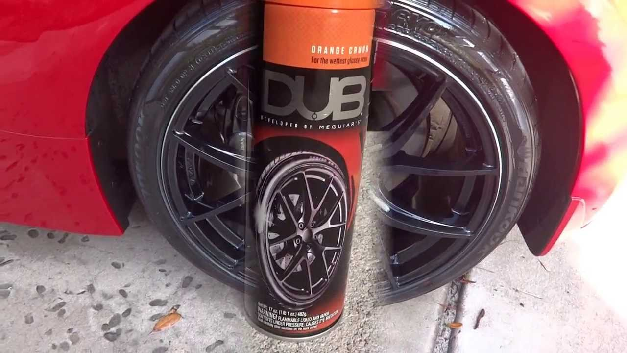 DUB Tire Shine review and test results before and after on ...