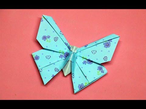 Origami Kupu-kupu // DIY, Kecantikan Dan Mudah