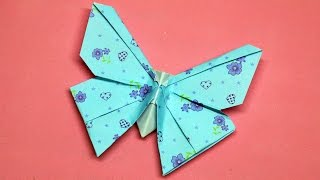 Origami butterfly //  DIY beauty and easy