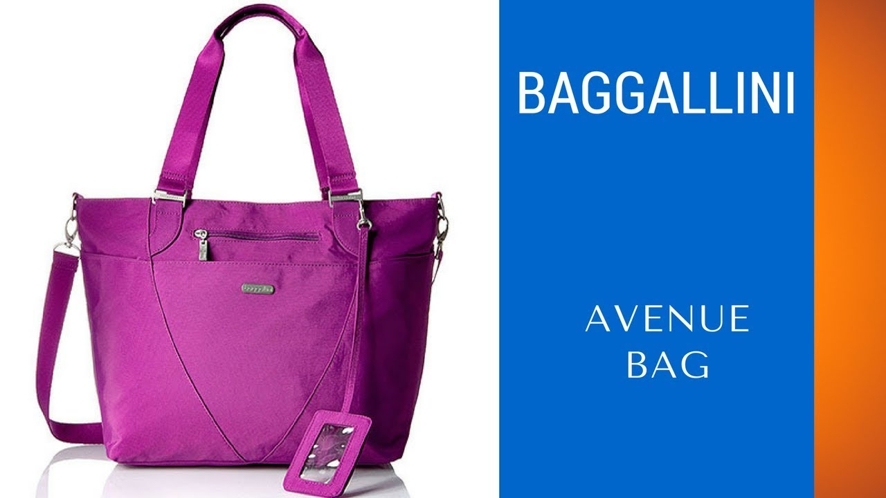 Best Nylon Top Handle Shoulder Bag Baggallini Avenue Lightweight Review