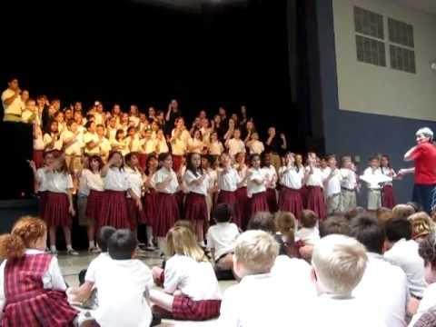 CHOIR: Mary Immaculate School Choir May 2011