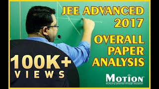 JEE Advanced 2017 Paper Analysis by NV Sir (Overall paper analysis)