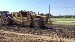 Video still for Terex TS-24 triple push pulling by Haupt Construction