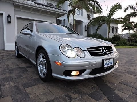 2004 Mercedes Benz Clk55 Amg Coupe For By Auto Europa Naples Mercedepert