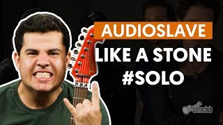 Like a Stone - Audioslave (How to Play - Guitar Solo Lesson)