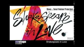 onstage reports on Shakespeare In Love