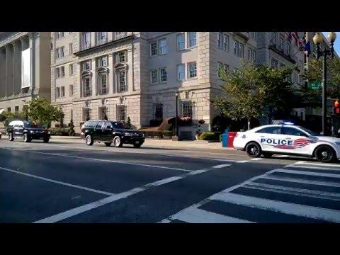 Police escort Washington - DC Metropolitan Police Department