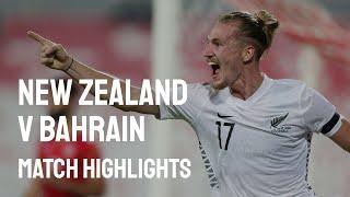 Бахрейн  0-1  Новая Зеландия видео