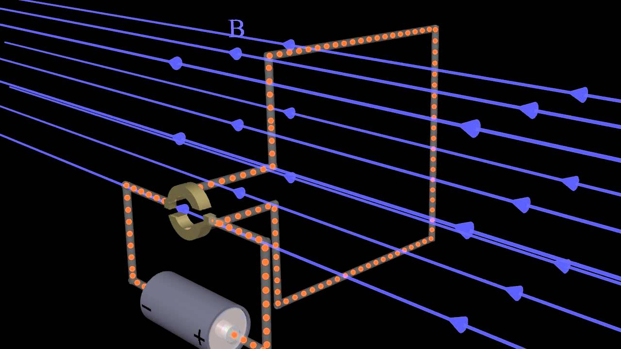 Magnetic Forces And The Dc Electric Motor