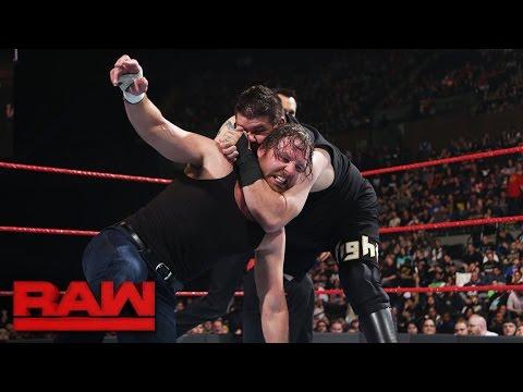 Dean Ambrose vs. Kevin Owens - Champion vs. Champion Match: Raw, April 10, 2017