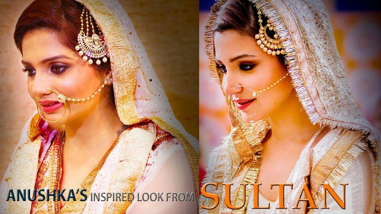 Sultan 2016 anushka sharma inspired look makeup tutorial - Anushka sharma sultan images ...