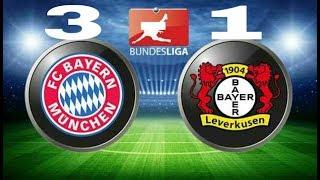 All Goals 3-1 Bayern Munchen vs Bayer Leverkusen ~ Bundesliga 2017-2018