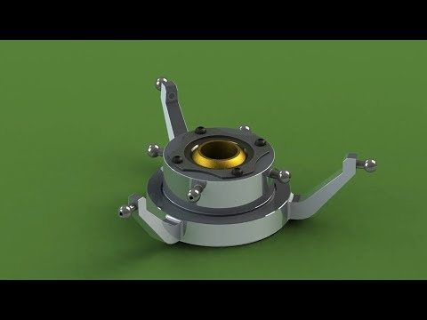 Swash Plate in Solidworks (Parts Designing, Assembly, Motion)Tutorial 720p