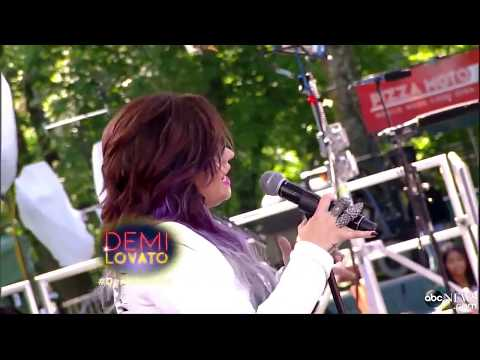 Demi Lovato - Heart Attack @ Good Morning America - 06-06-14
