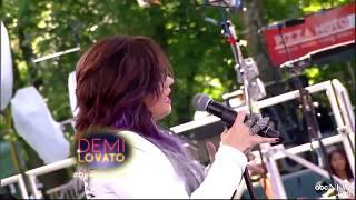 Demi Lovato - Heart Attack @ Good Morning America - 06-06-14
