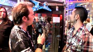 Dean Guitars 2015 N.A.M.M. Highlights - Jose Mangin Interview