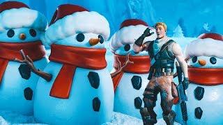 SNOWMAN META WITH NINJA, TIM, AND LUPO (Fortnite Battle Royale)