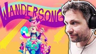 Wandersong - CANTANDO E DANÇANDO (Gameplay em Português PT-BR)