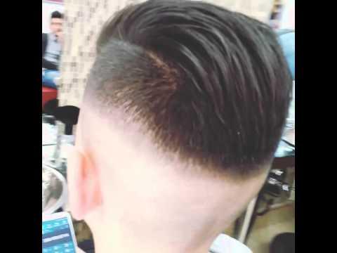 Taglio capelli sfumatura dietro