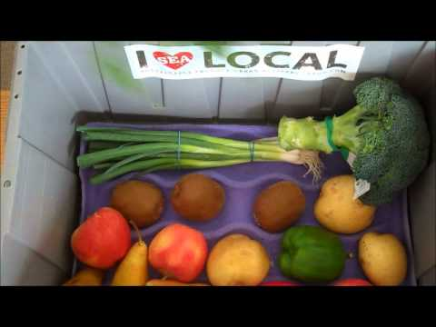 Seattle's Local Organic Produce Box: Oct. 20th - 26th