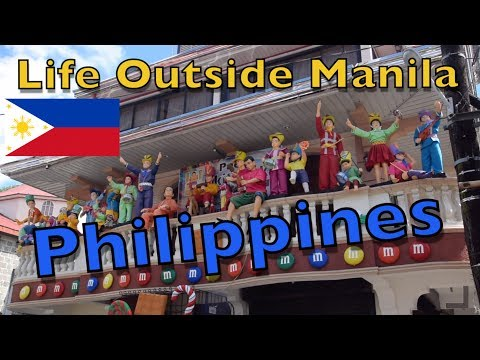 How is life OUTSIDE Metro MANILA in the Philippines?