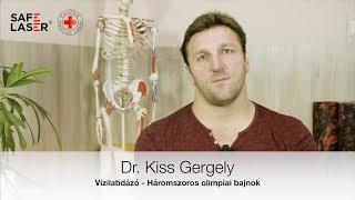 Dr. Kiss Gergely olimpiai bajnok vízilabdázó Safe Laser riport