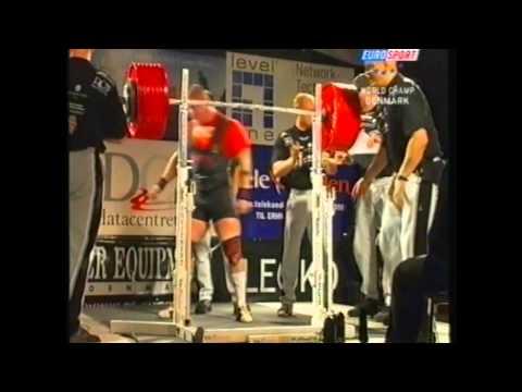 Powerlifting IPF World Championships 2003 Denmark