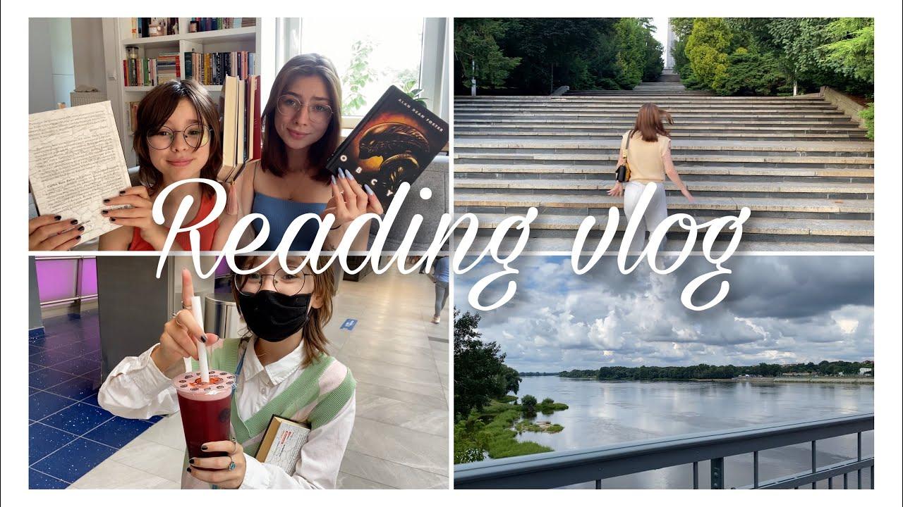 Obcy,  bookhaul, wyjazd do Torunia i dużo jedzenia 🙌🏻📚 READING VLOG ✨