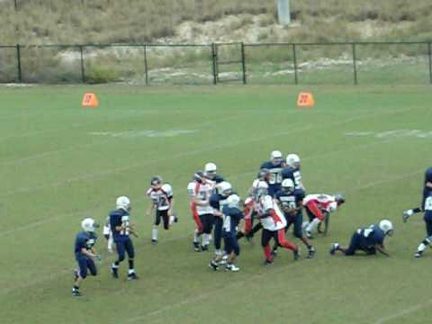 carolina springs middle school football - YouTube