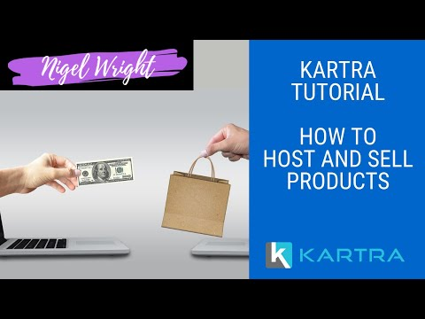 Kartra Tutorial - How to Use Kartra to Sell Products Online