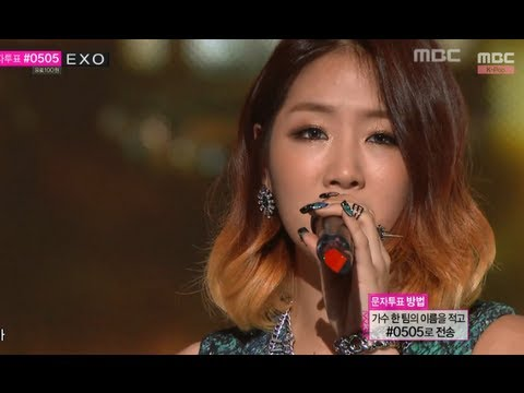 Soyou x Mad Clown - Stupid In Love, 소유 x 매드클라운 - 착해 빠졌어 Music Core 20130928