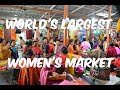 Oldest and Largest Ima Keithel Women's Market Imphal Manipur HD