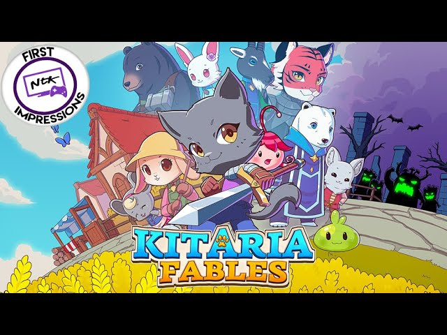 PS4 First Impressions | Kitaria Fables, an Upcoming Action Adventure RPG!