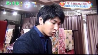 2015年1月に静岡第一テレビで真奈武衣装店が、成人式の撮影や人気の...