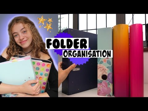 Lifesaving Folder Organisation Hack for Sixth Form & Back to School 📚    How to Organise Sheets